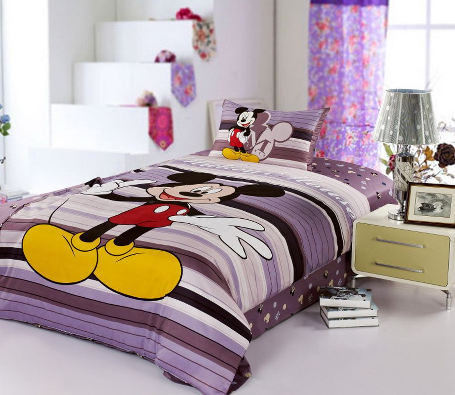 Mickey Mouse Grey Disney Bedding Sets