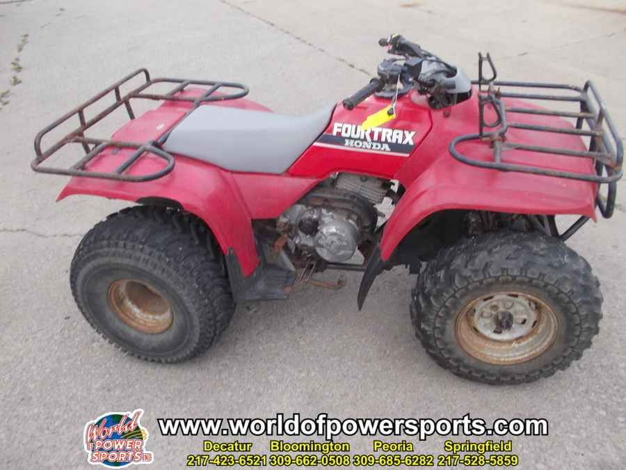 Used 1989 Honda TRX300 FOURTRAX 300 ATVs For Sale in Illinois. 1989