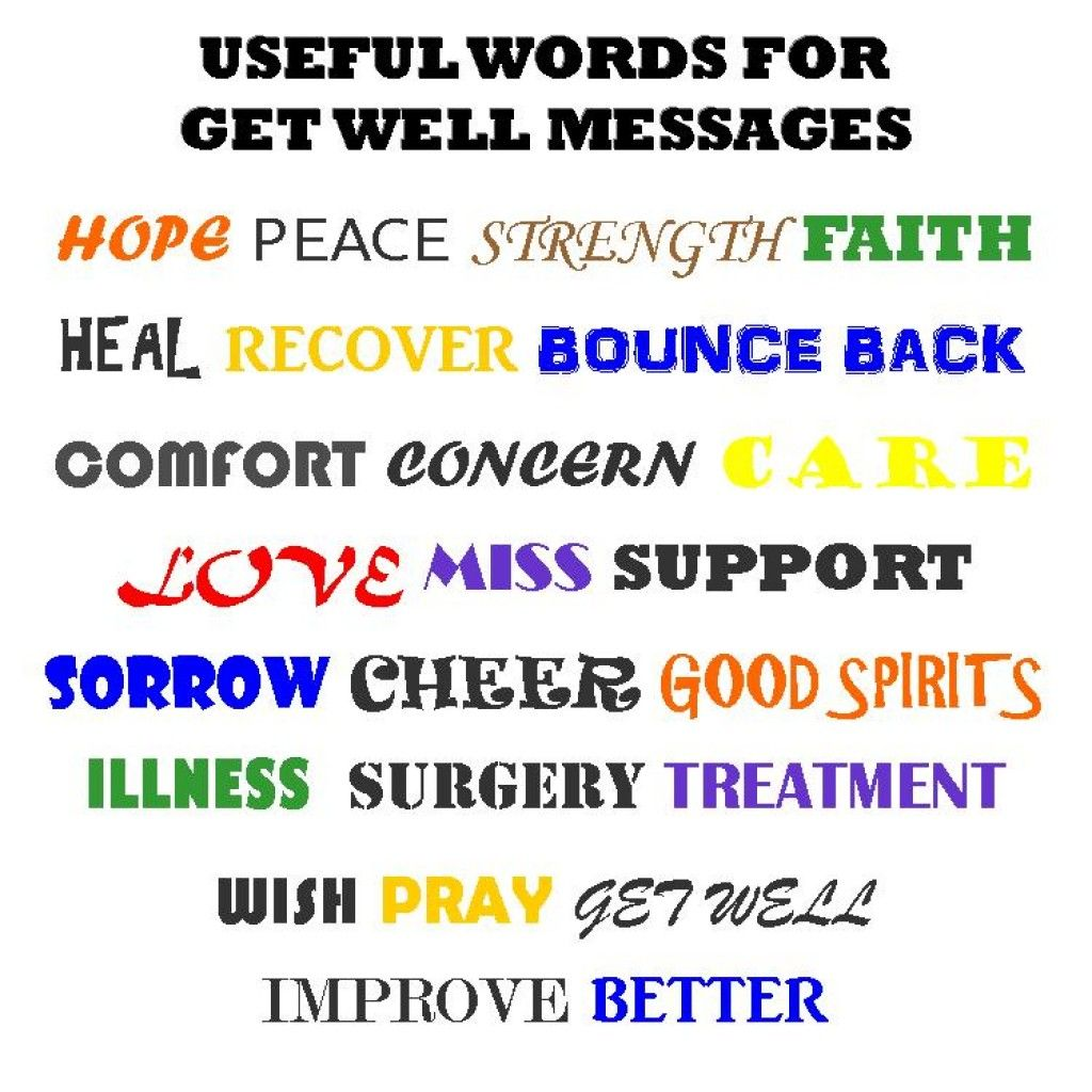 Get well soon messages to write in a card perfect word messages word list to help you write get well card messages get well soon messages examples of what to write in a card get well bethany kristyandbryce Gallery