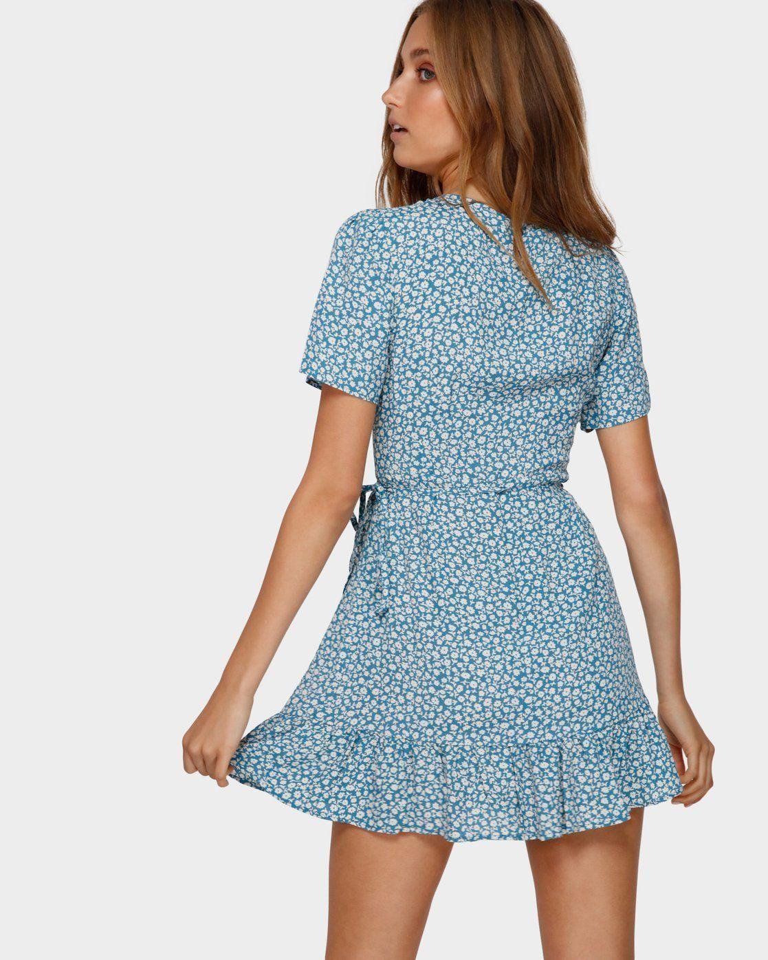 Florida Wrap Dress Jd831bfl In 2020 Casual Summer Dresses Casual Dresses For Women Short Dresses Casual [ 1396 x 1117 Pixel ]