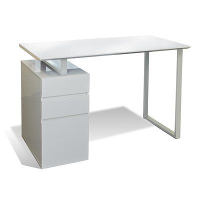 Latitude Run Murilda Writing Desk Desk Color Writing Desk With Drawers Office Desk Desk With Drawers