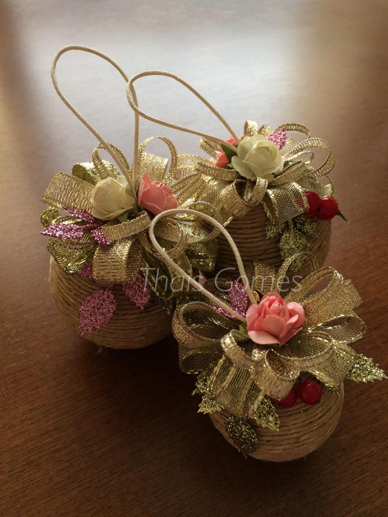 Christmas ornament coronas decoracion palline di for Ornamenti casa