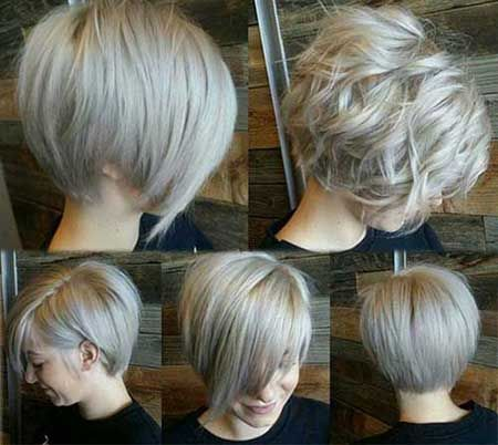 Short Grey Bob Hairstyles | Hair Color Ideas and Styles for 2018