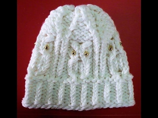 How To Loom Knit An Owl Hat Owl Hat Owl And Loom Knitting