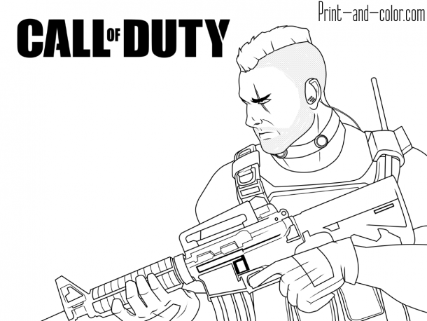 Call Of Duty Coloring Pages Call Of Duty Printable Coloring Pages Coloring Pages