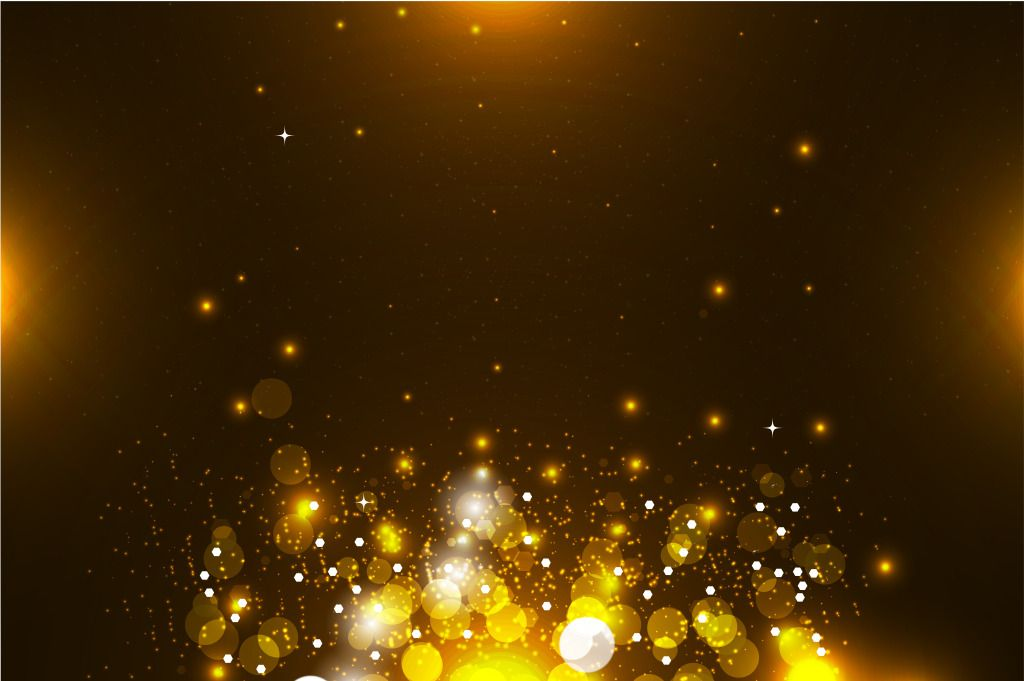 golden spot fashion new year posters background template