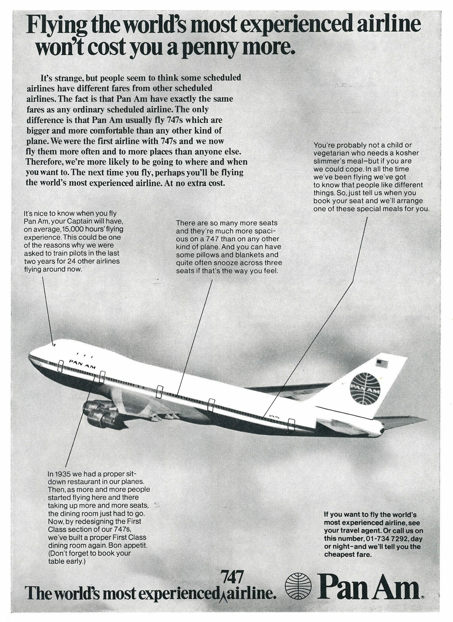 Cutaway of a pan am boeing 377 stratocruiser image from chris sloan - Panam 1970s