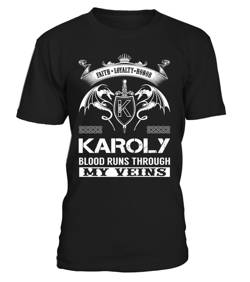 KAROLY Blood Runs Through My Veins
