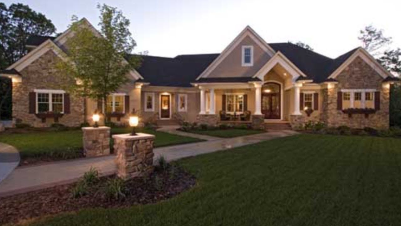 Bought A New Home Without My Wife S Permission Youtube In 2020 Craftsman House Craftsman House Plans House Exterior