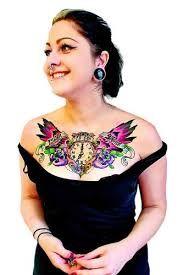 dekollet tattoo motive google suche dekollete pinterest tattoo and tattos. Black Bedroom Furniture Sets. Home Design Ideas