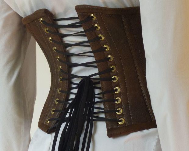 how to make a steampunk corset mittelalterliche kleidung. Black Bedroom Furniture Sets. Home Design Ideas