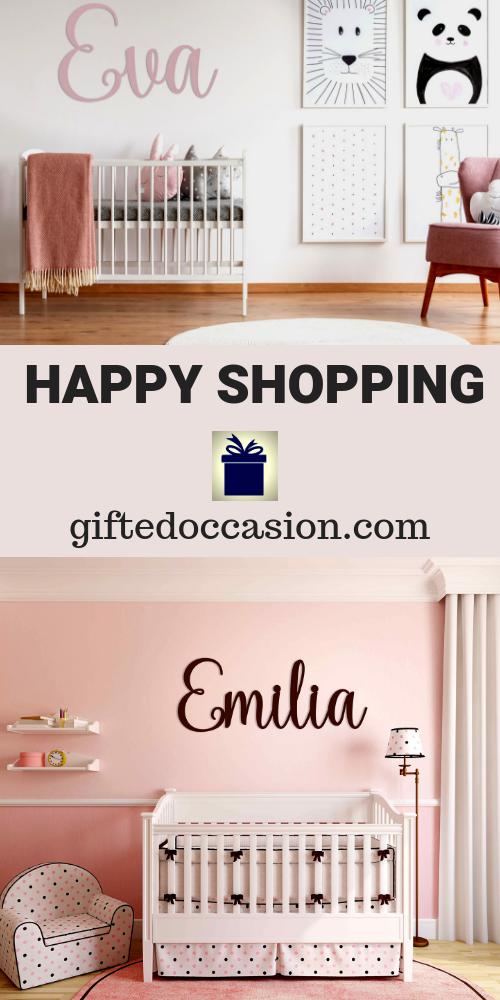 Personalized Name Sign, Eva Kaiy Design | Name signs, Diy ...