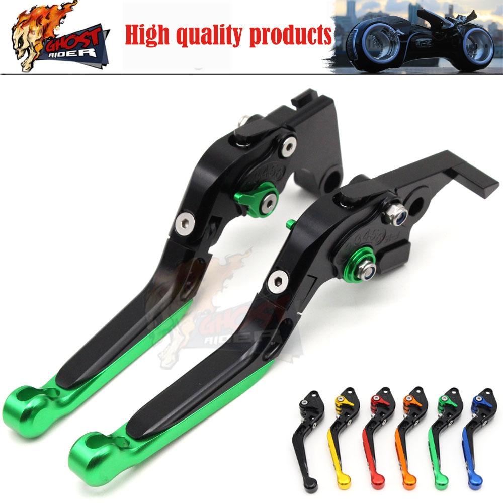 31.53$  Watch now - http://ai2kq.worlditems.win/all/product.php?id=32724083679 - Adjustable Foldable Extendable Motorbike Brakes Clutch CNC Levers Kawasaki NINJA 650R ER6F ER6N F Z750 Z800 Z1000 ZX9R ZX10R ER5