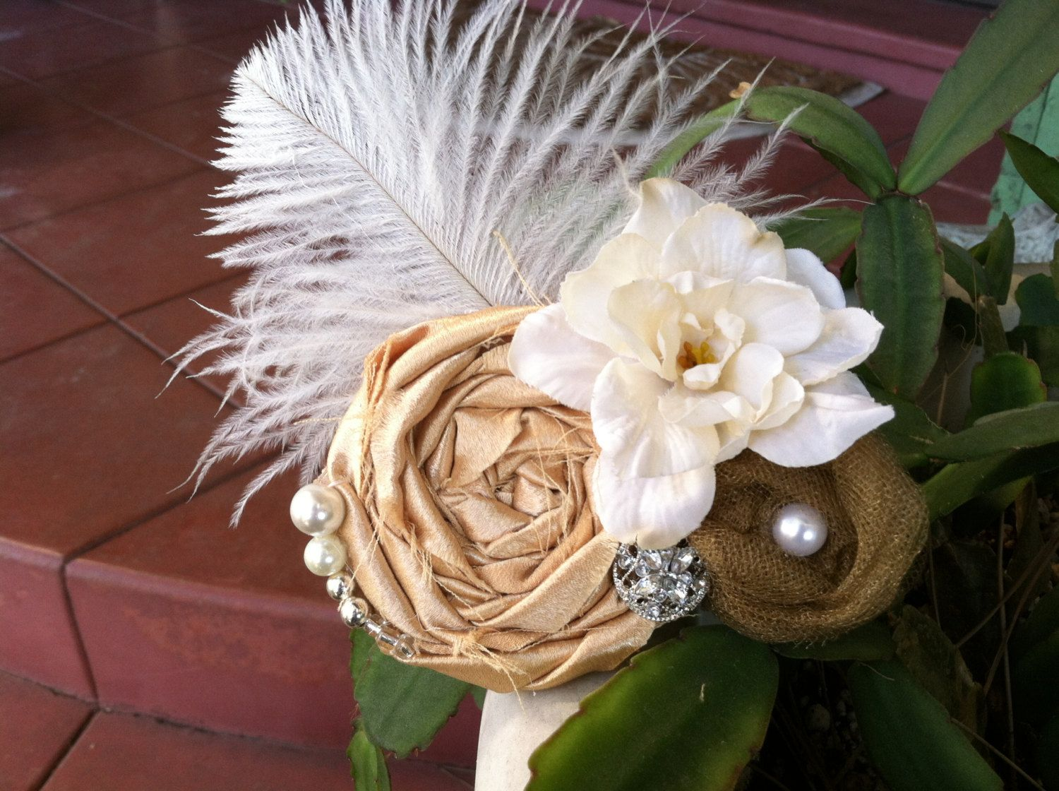 Wedding+hair+piece+Wedding+hair+accessories+by+TheBellaCouture,+$25.50