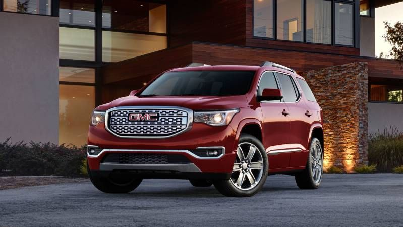 The new 2017 GMC Acadia is offered in either 5 seat or 7 seat