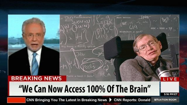 "Breaking News: Stephen Hawking Says, ""By Taking This One Pill Boosts Your IQ 40% or More"" 