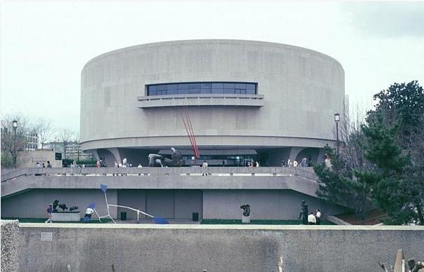 Hirshorn museum by Gordon Bunshaft