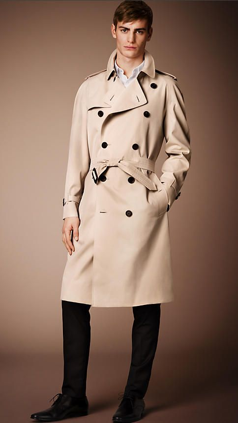 competitive price big sale double coupon The Westminster – Extra-long Trench Coat in Honey - Men ...