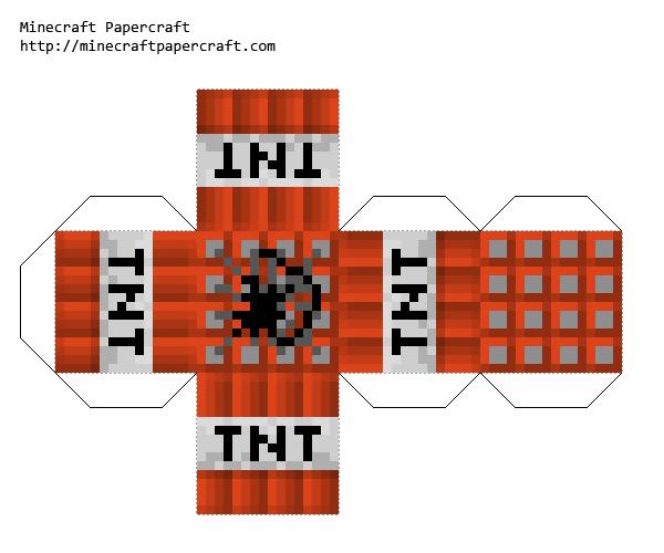 Minecraft Papercraft Tnt Google Search Petits Jardins De Potagers Jeux Petits Jardins