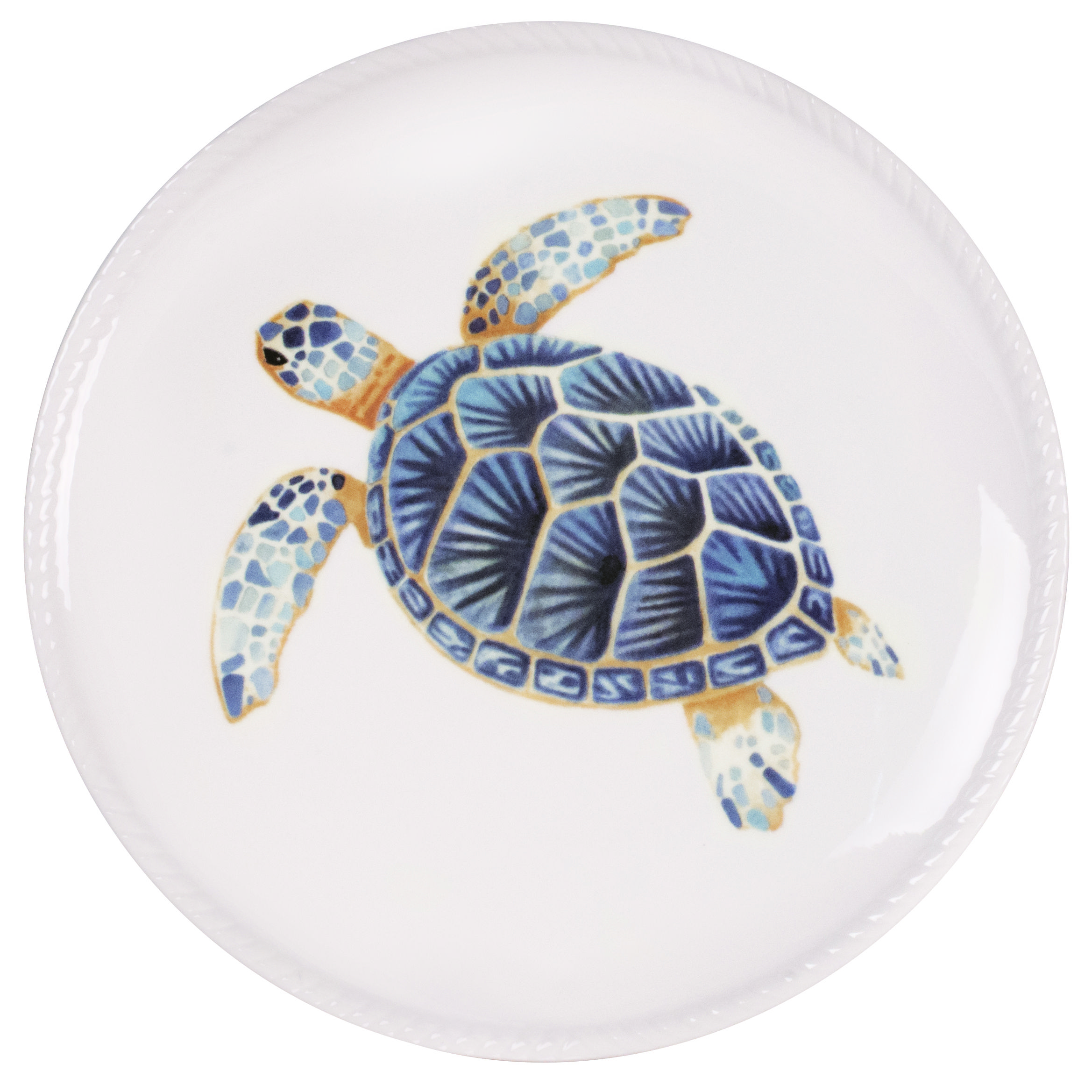 Cape Coral Home Turtle Accent Plate Fitz And Floyd Fitz And Floyd Cape Coral Ocean Inspiration