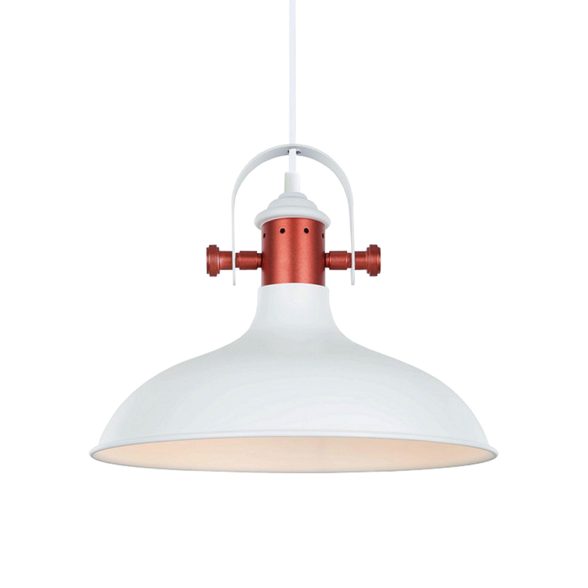 white narvik cla industrial dome pendant light narvik pendant