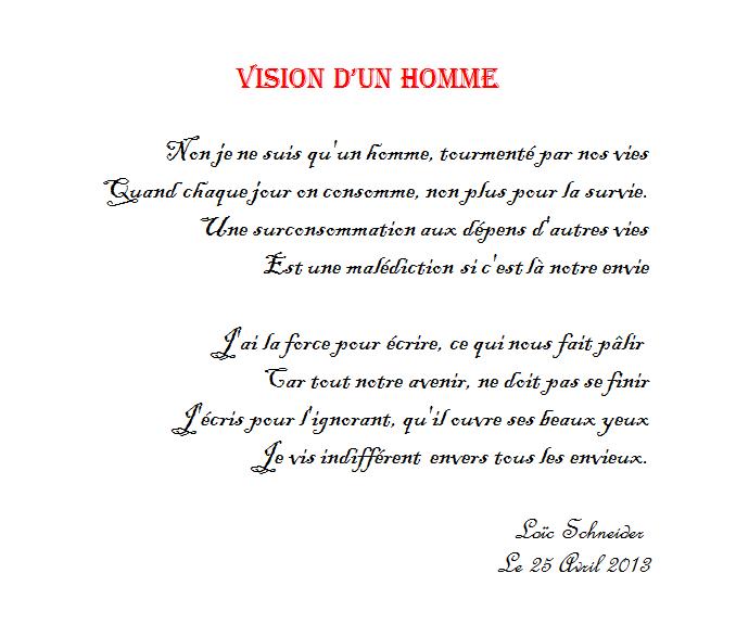 35 Vision Dun Homme Poeme Poesie Etre Un Homme