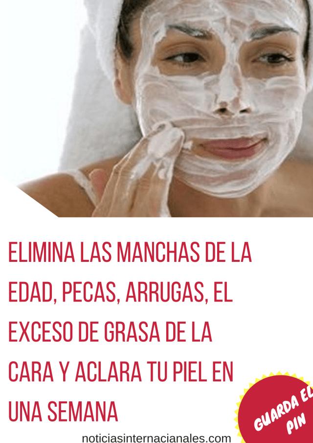 Hay Muchos Remedios Naturales Que Pueden Limpiar La Piel Del Acné Arrugas El Exceso De Grasa Y Otros Problemas Esta Máscar Arrugas Mancha De La Edad Manchas