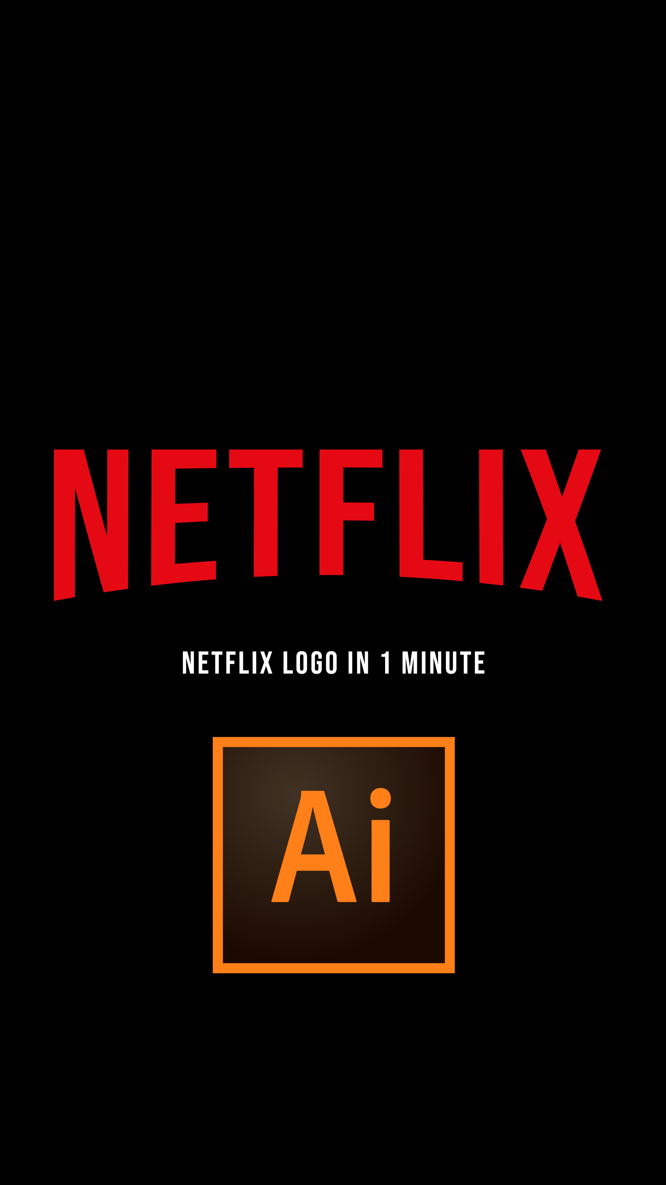 How to Create the Netflix Logo in 1 Minute in 2020