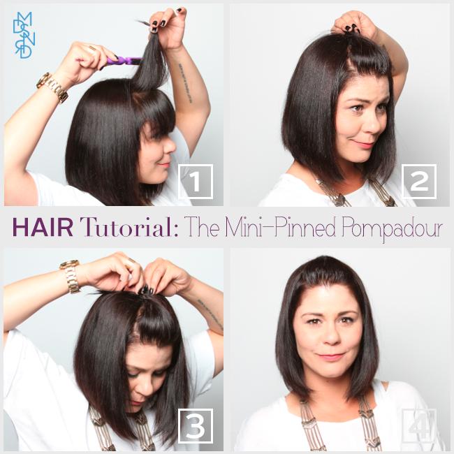 Light Works Camera Action How To Highlight Short Hair Hair Tutorial Hair Puff Short Hair Highlights