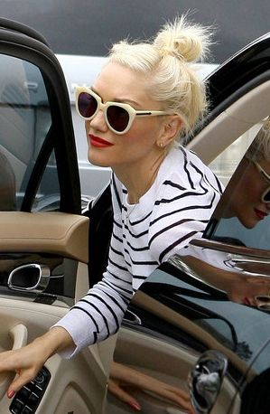 60b549c01ae Karen Walker eyewear- Gwen Stefani wears KW Number One