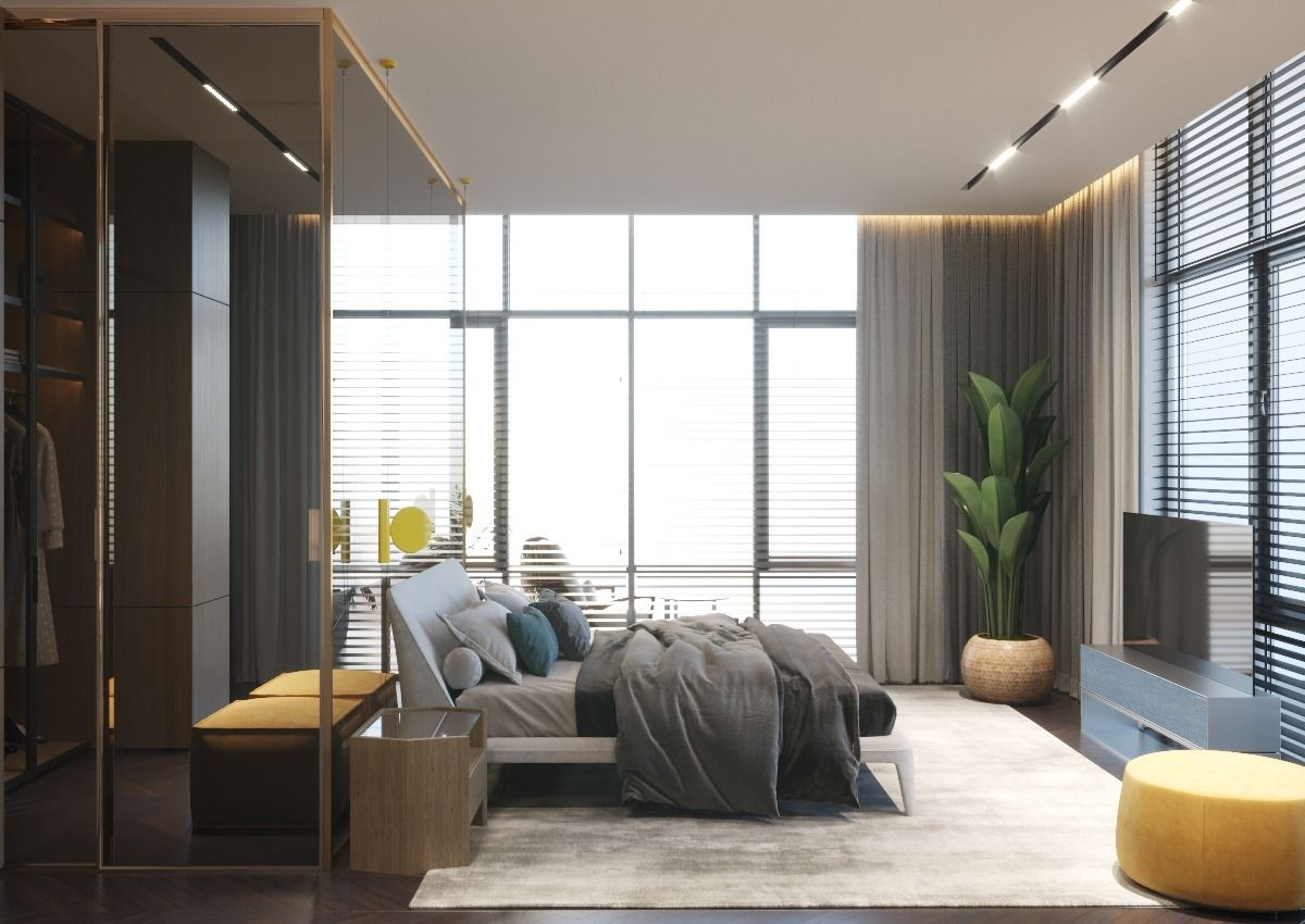 The Penthouse Of Subtle Elegance Interior Design Of Contemporary Style In 2020