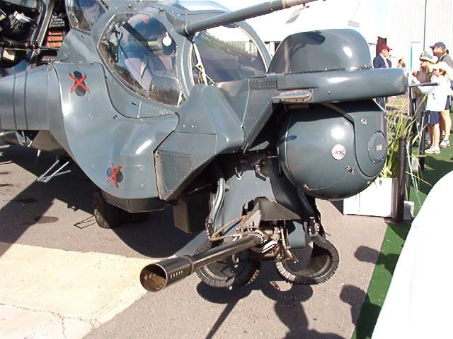 """ATE """"Super Hind"""" Mk III Mil Mi-24 """"Hind"""" updated in South Africa with Western electronics and other modifications."""