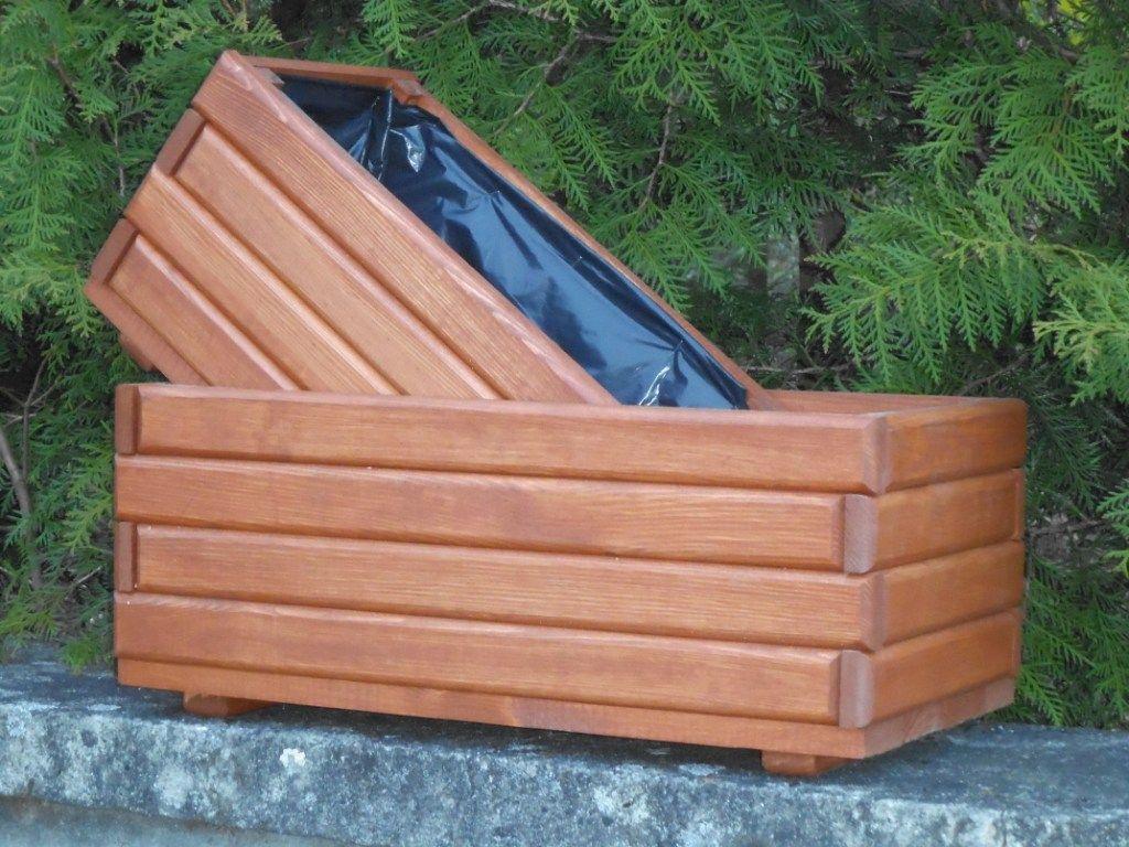Donica Drewniana Na Wymiar Doniczka Folia Gratis 6017375749 Oficjalne Archiwum Allegro Wood Pots Wood Pot