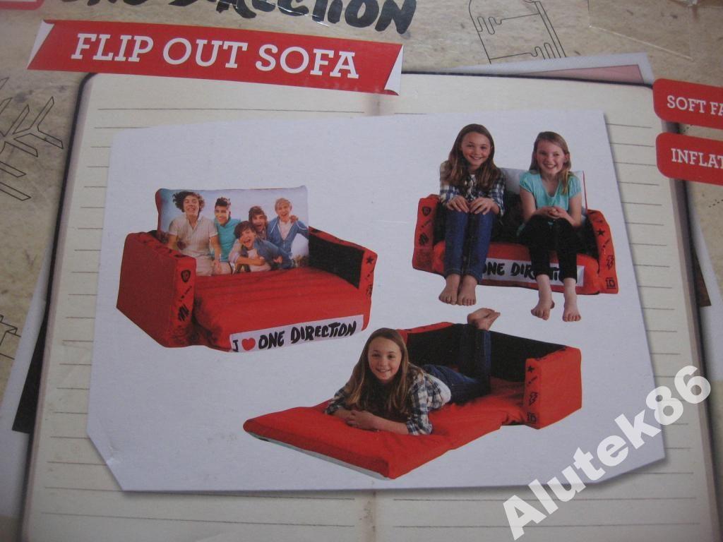 Mini Sofa Rozkladana One Direction Nowa E 5693999471 Oficjalne Archiwum Allegro Soft One Direction Flip Out