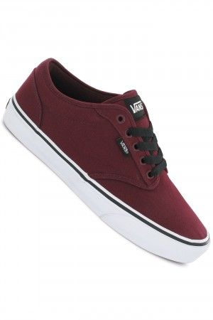 248054ced9 Vans Atwood Shoe (oxblood white)  skatedeluxe  sk8dlx  vans