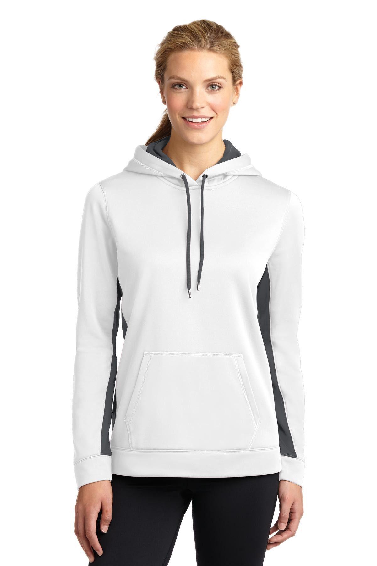Sport-Tek Womens Fleece Hooded Sweatshirt