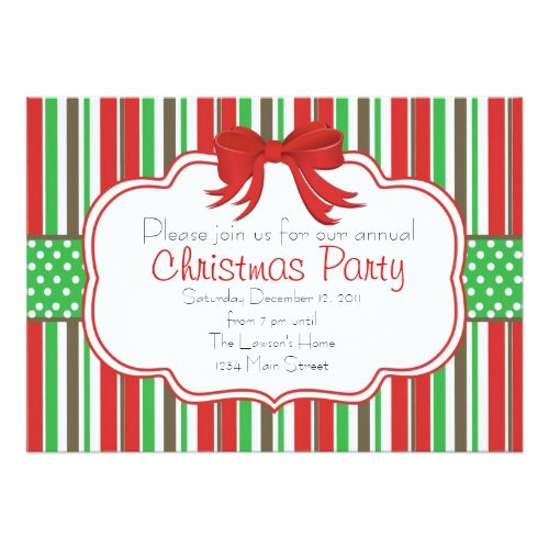 Christmas Party Invitation - Cookie Exchange - Orn Party invitations - holiday party invitation