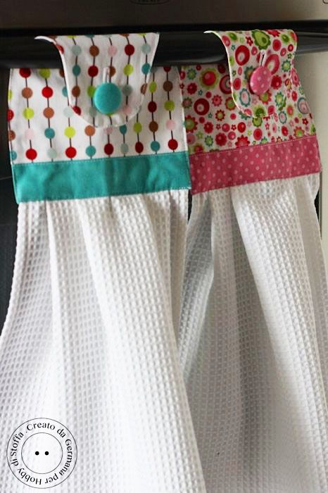 DIY Cute Kitchen Towels.