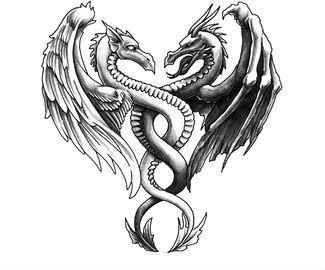 Represents My Two Sides My Good And Evil Dragon Tattoos For Men Dragon Tattoo Images Tattoos For Guys
