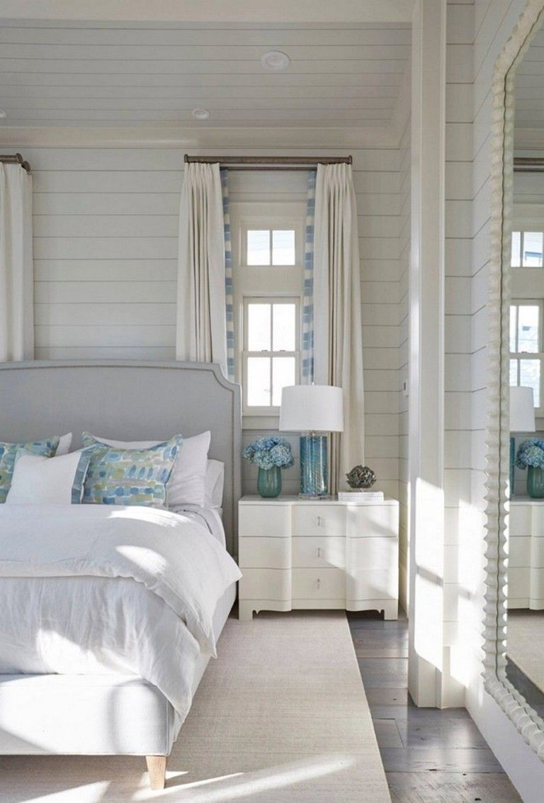 90 Luxury Beach House Interior Design Ideas Coastal Master Bedroom Coastal Bedrooms Beach House Interior Design