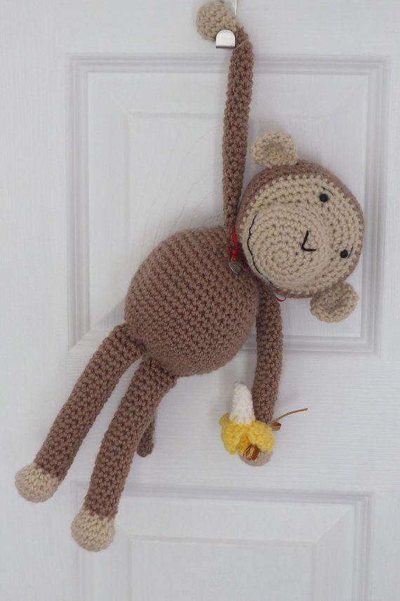 Crochet monkey by Little Gems Crochet - cheeky monkey amigurumi ...