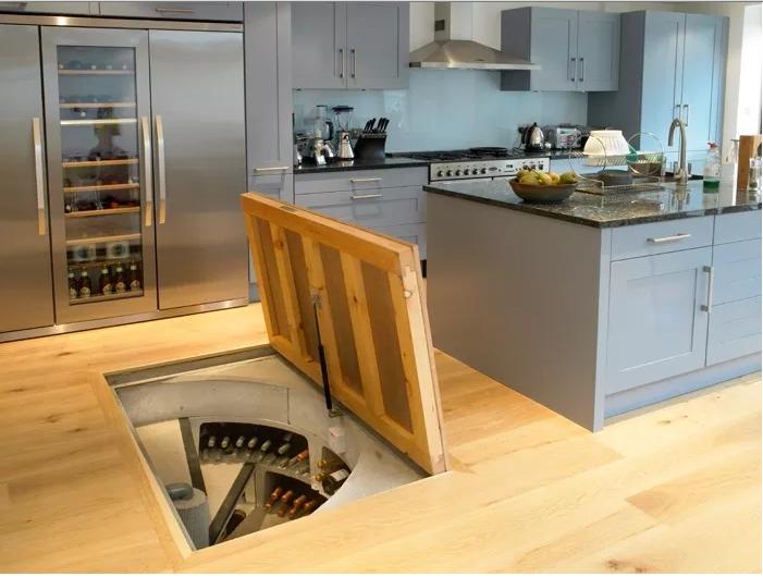 Sunken PreFab Wine Cellar Part 25