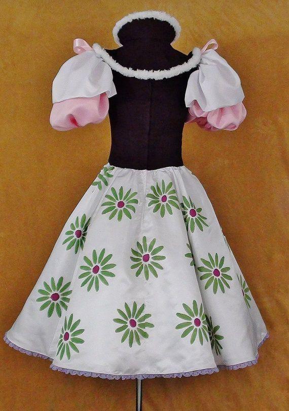 Haunted Mansion Tightrope Walker Ballarina Dress Cosplay Disney World Costume