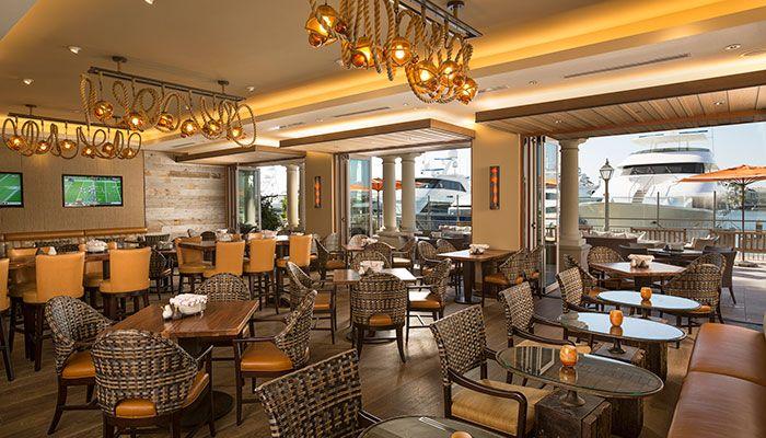 Balboa Bay Resort Newport Beach A O Kitchen Bar Luxury Hotel Design Newport Beach Hotel Design