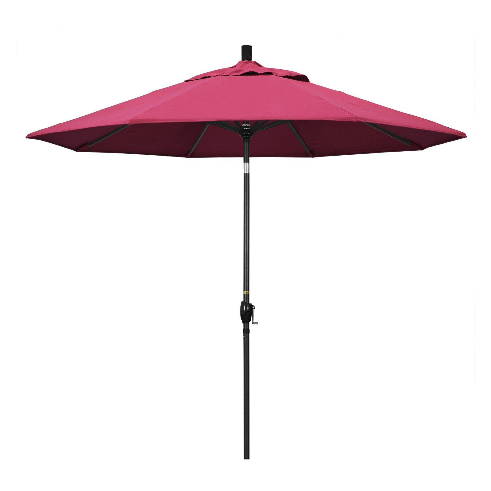 California Umbrella 9 ft. Aluminum Push Button Tilt