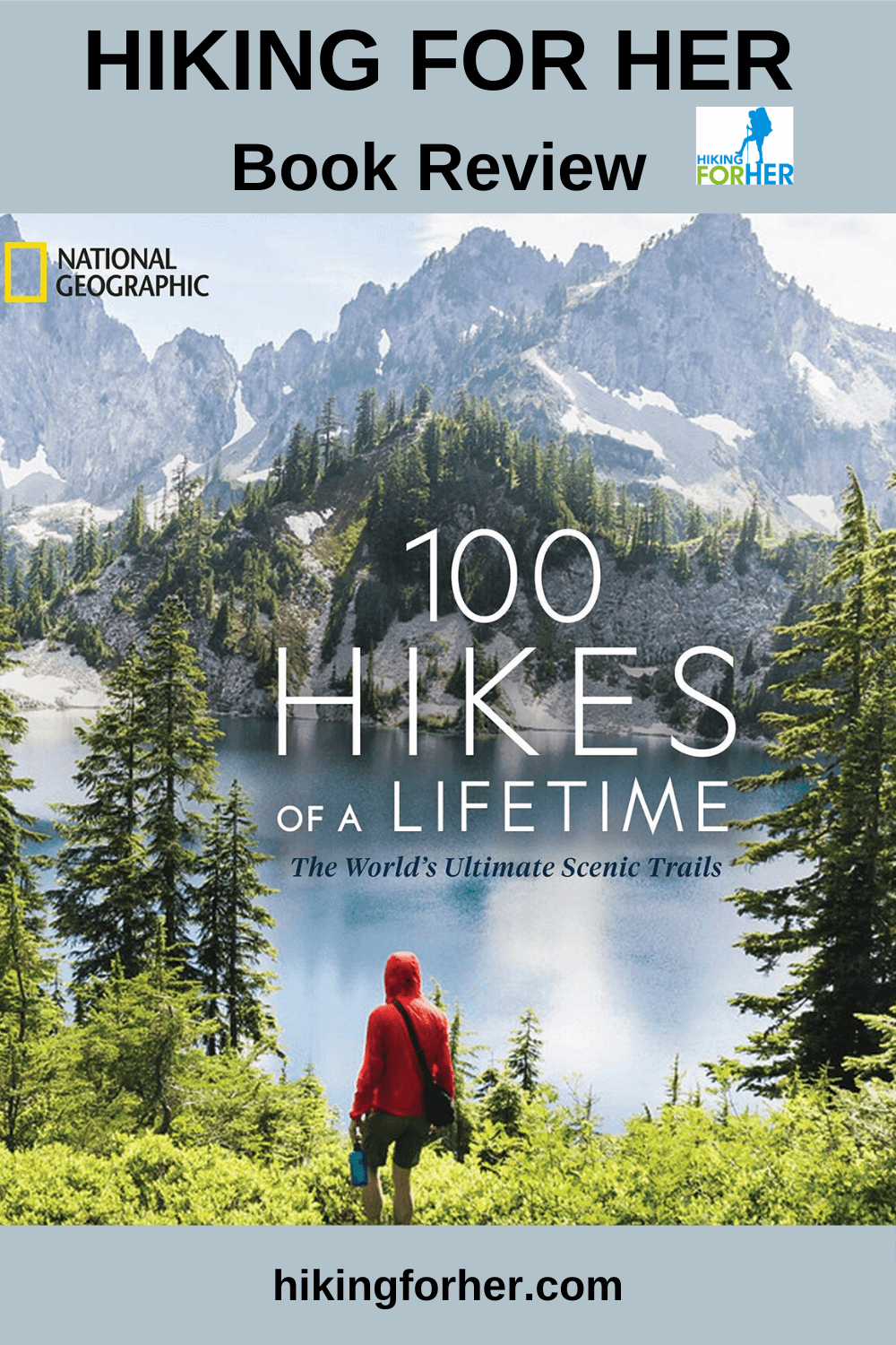 100 Hikes Of A Lifetime Book Review A Feast Of Ideas For Hikers Hiking Hiking Essentials National Geographic Kids