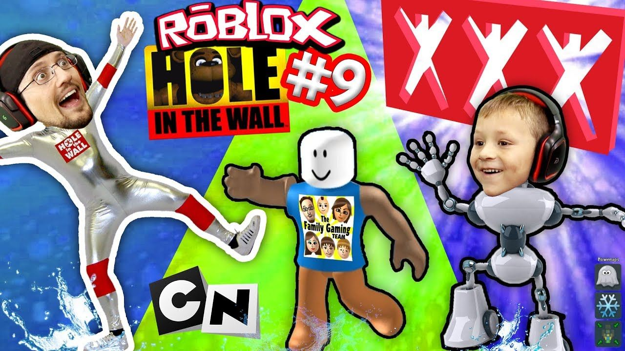ROBLOX #9 HOLE IN THE WALL! + Extreme Cartoon Network
