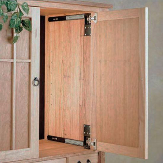 Accuride Flipper Door System Cb1234 Steel Black 303mm 12inch To 710mm 28inch Lengths By Hafele Cabinet Door Hardware Pocket Door Hardware Pocket Doors