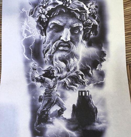 Xăm Tượng Tatuagens De Mitologia Tatuagem Deusa Grega E