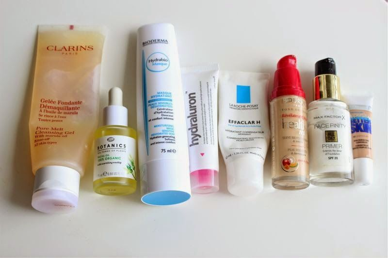dehydrated skin products
